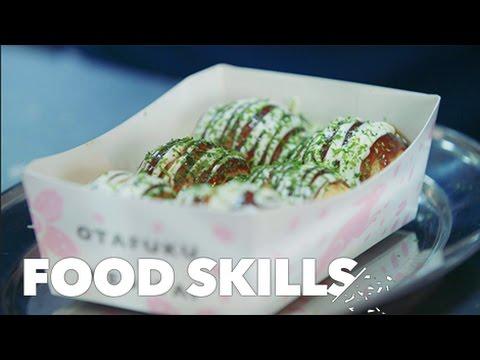 Takoyaki Is the Most Hypnotic Japanese Street Food | Food Skills