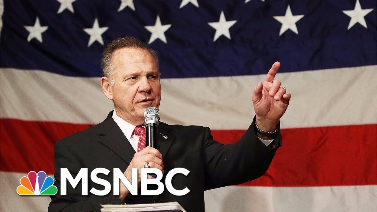 Roy Moore And Doug Jones Senate Race Coming Down To The Wire | Velshi & Ruhle | MSNBC thumbnail
