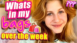 ILIAS WELT - Whats in my bags (over the week)