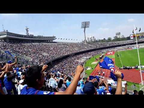 """""""La Sangre Azul - Pumas vs Cruz Azul Apertura 2019"""" Barra: La Sangre Azul • Club: Cruz Azul"""