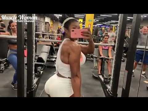 Alessandra Alves | Muscle Woman | Fitness Model | Sexy Girl | Big Muscular Booty