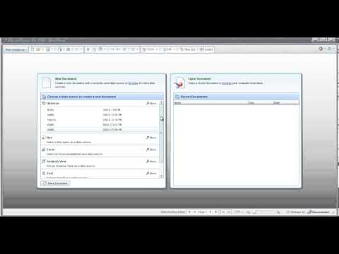 Introduction to SAP Business Objects (BO / BOBJ) - YouTube