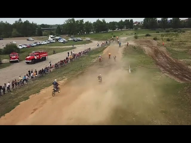 Соревнования по мотокроссу прошли в Ангарске