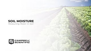 measuring water in the soil: a webinar
