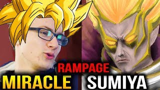 Miracle- & Sumiya Invoker Can't Compare Their Skill Dota 2