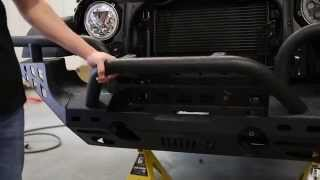 NSF1 Project Jeep Part 5: Aries Automotive Front and Rear Bumpers