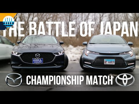 The BATTLE OF JAPAN FINALE - MAZDA3 vs TOYOTA COROLLA