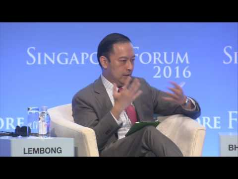 Dialogue with Thomas Trikashi Lembong, Minister of Trade, Republic of Indonesia
