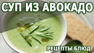 Рецепты блюд. Суп пюре из авокадо простой и уникальный рецепт