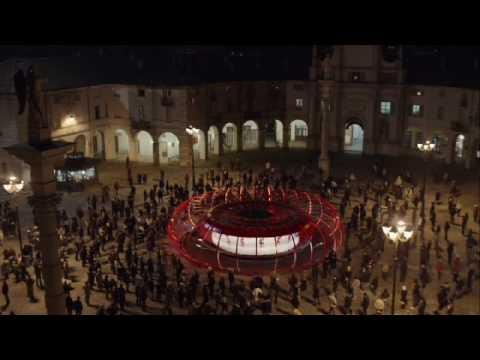 New Bravia Ad Features World's Largest Zoetrope