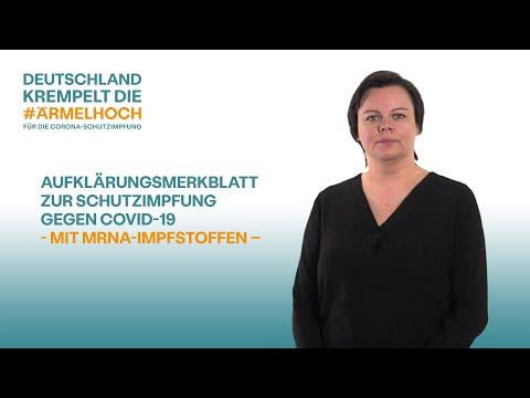 Dokumente zur Coronavirus-Schutzimpfung in Deutscher Gebärdensprache