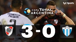 Copa Argentina: River 3-0 Argentino de Merlo
