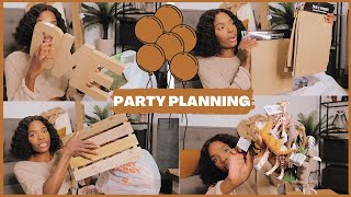 PARTY PLANNING + MASSIVE FIRST BIRTHDAY PARTY DECOR HAUL