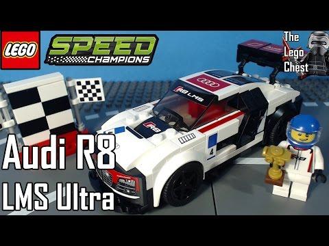 Vidéo LEGO Speed Champions 75873 : Audi R8 LMS ultra