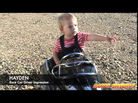 Kid's Race Car Driver Impressions June 2015