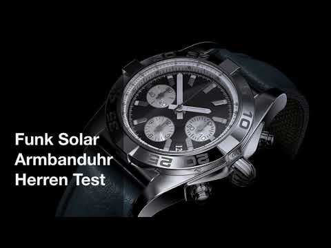 Funk Solar Armbanduhr Herren Test 2018 - die besten 5 im Vergleich