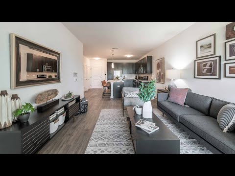 Tour a 1-bedroom A1 model in Schaumburg at the new Element at Veridian