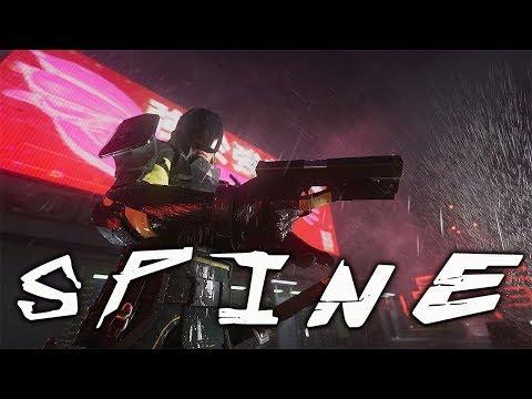 Новая игра от Nekki в жанре Киберпанка - Spine