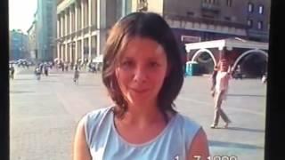 Москва , Манежная площадь 1999 год.