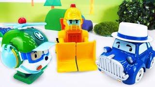 Видео про игрушки. Как работают Машинки Помощники?