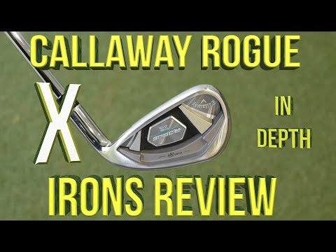 Callaway Rogue X Irons Review: The most Aggressive Iron in Golf??