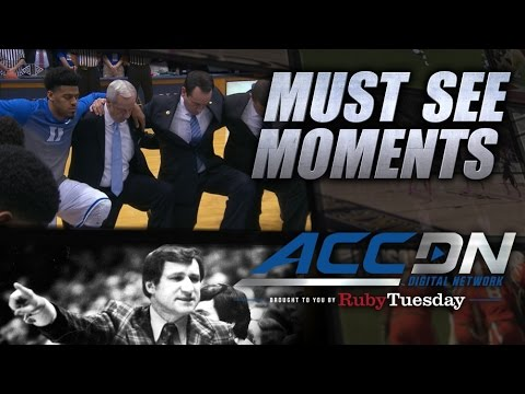 Video: Powerful Moment of Silence for Dean Smith at UNC-Duke