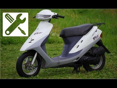 Ремонт скутера Honda Dio 27. Часть 1. Дедушкин вариант