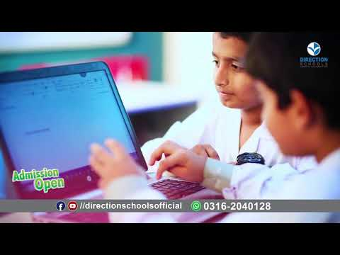 TV Commercial ads Admission Open at Direction Schools