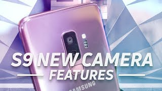Samsung Galaxy S9+: New Camera Features