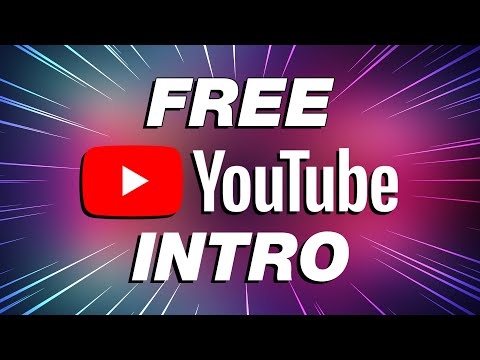 FREE YouTube Intro Maker for Beginners (Quick & Easy!)