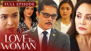 Coming face to face with Kai (Sunshine Cruz), Lucy (Eula Valdes) goes to great lengths to keep the truth about Michael (JJ Quilantang) from coming out. As the tension between the two women escalates, Adam (Christopher de Leon) urges them to keep the conflict within themselves in order to protect Jia (Kim Chiu) and Dana (Yam Concepcion). Gab (Karl Gabriel), meanwhile, lets his nerves get the best of him as he finally meets Adam. After learning about her son's predicament, Amanda (Ruffa Gutierrez) decides to shake things up.  Subscribe to the ABS-CBN Entertainment channel! http://bit.ly/ABS-CBNEntertainment  Visit our official website!  http://entertainment.abs-cbn.com http://www.push.com.ph  Facebook:http://www.facebook.com/ABSCBNnetwork Twitter:https://twitter.com/ABSCBN Instagram:http://instagram.com/abscbn  Episode Cast: Kim Chiu (Jia) / Sunshine Cruz (Kai) / Christopher de Leon (Adam) / Eula Valdes (Lucy) / Yam Concepcion (Dana) / MJ Cayabyab (Summer) / Tori Garcia (Abigail) / Mikee Agustin (Ross) / JC Gamez (Eddie) / Ruffa Gutierrez (Amanda del Mundo) / Karl Gabriel (Gab del Mundo) / Tim Yap (Tim Go) / Jennifer Sevilla (Carol) / Olive Isidro (Shelly) / David Chua (Harry)  #LTWDenial #LoveThyWoman #KapamilyaChannel