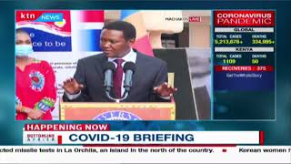 Governor Mutua hilariously urges social distancing during COVID-19 briefing in Machakos