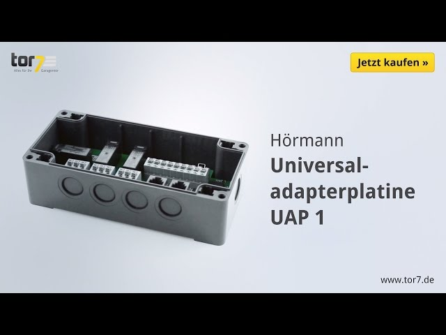 Produktvideo Hörmann Universaladapterplatine UAP 1