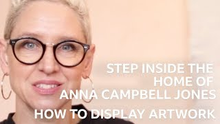Look Inside Anna Campbell Jones Home: Art | Scotlands Home Of The Year