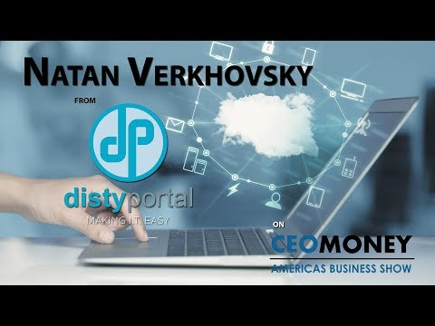 Natan Verhovsky talks how Disty has the tools to help businesses start up and succeed