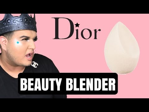 DIOR MAKEUP BEAUTY BLENDER REVIEW