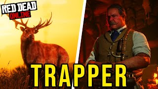 UNLOCKING Content Through The Red Dead Online Trapper (RDR2 Online)