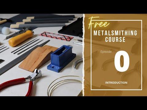 Introduction & Basic Tools - (free) Online Metalsmithing Class by Estona Tutorials