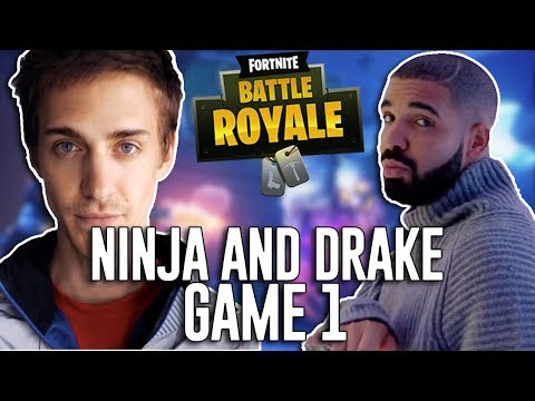 Ninja and Drake Play Duos!!! - Fortnite Battle Royale Gameplay - Game 1
