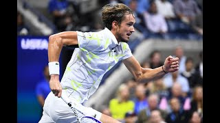 Daniil Medvedev vs Grigor Dimitrov Extended Highlights | US Open 2019 SF