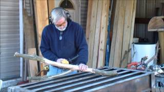 Bob Gursky Carving With An Angle Grinder