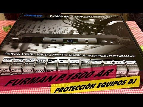 FURMAN  P1800 AR - PROTEJE TUS EQUIPOS DJ - ESTUDIO DE GRABACIÒN ⏯ 🎧