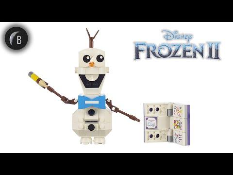Vidéo LEGO Disney 41169 : Olaf