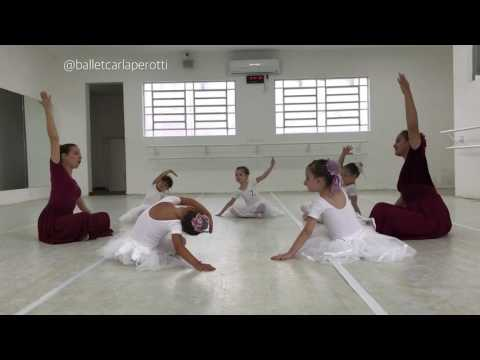 Aula de Ballet para crianças pequenas