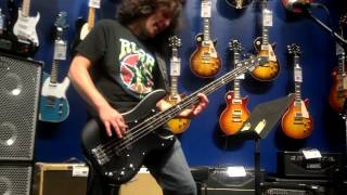 """Lone Justice"" by Anthrax @ Frank Bello Bass Clinic at Guitar Center 2013"