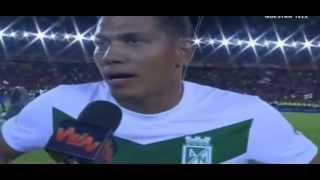 Atletico Nacional Campeón 2013 I. Final. Santa Fe 0 Vs. Nacional 2 (HD)