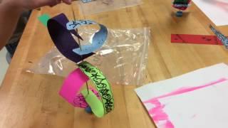 Shish-Ka-Bob Paper Sculptures!