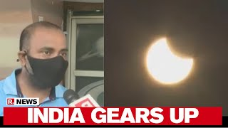 Solar Eclipse 2020: India Gears Up To Witness Annular Celestial Event - Download this Video in MP3, M4A, WEBM, MP4, 3GP