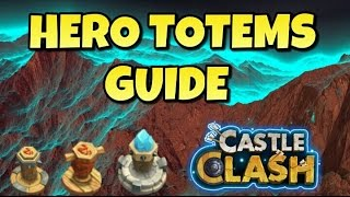 Castle Clash Hero Totems Guide!