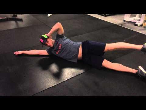 side crunch leg lift